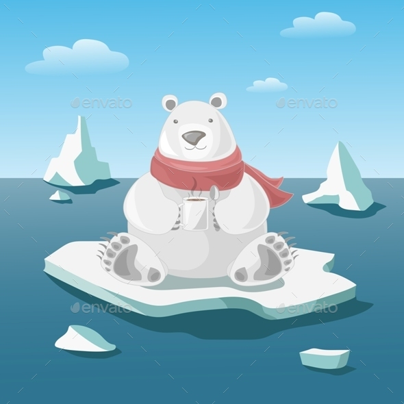 Polar Bear - Animals Characters