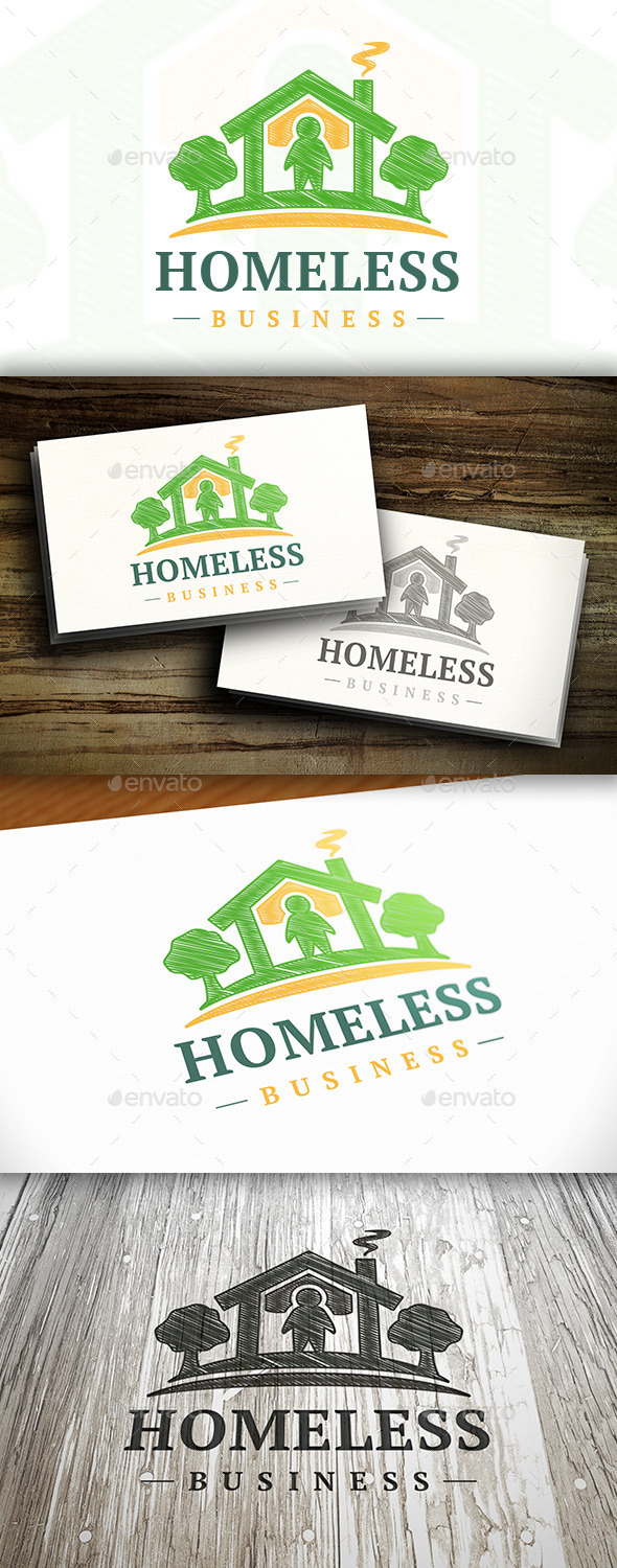 Homeless Logo - Buildings Logo Templates