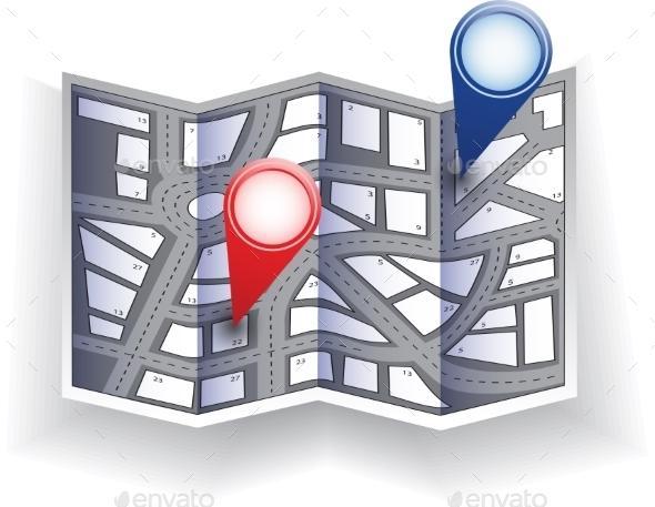 City Map - Web Technology