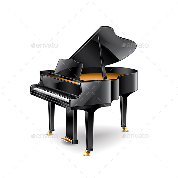 Piano - Man-made Objects Objects