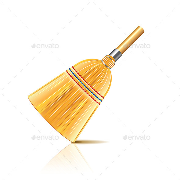 Broom - Man-made Objects Objects