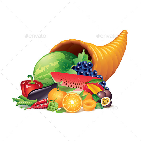 Cornucopia - Food Objects