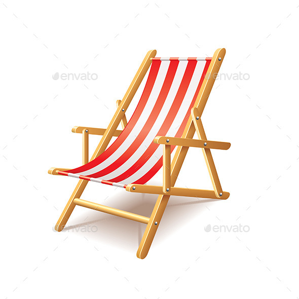 Deck Chair - Man-made Objects Objects