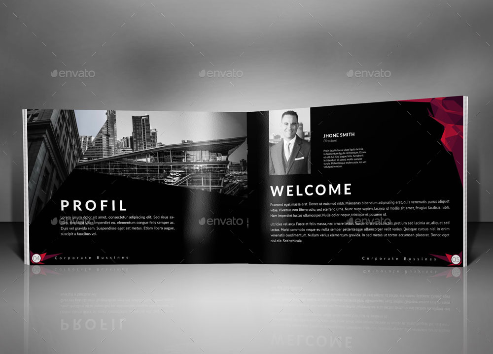 Bundle Modern Corporate Brochure Template By H_M | Graphicriver