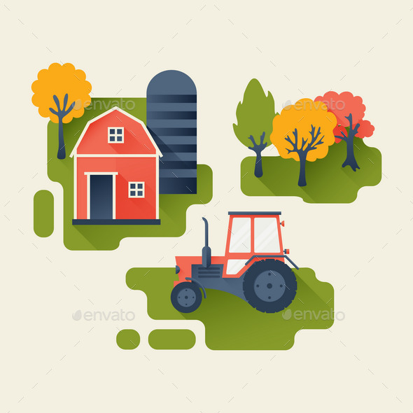 Agricultural Industry Concept - Concepts Business