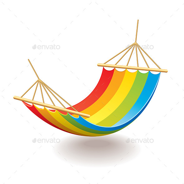Colorful Hammock - Man-made Objects Objects