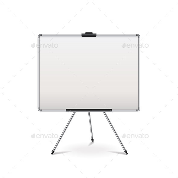 Empty Whiteboard - Concepts Business