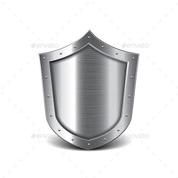 Metal Shield - Man-made Objects Objects
