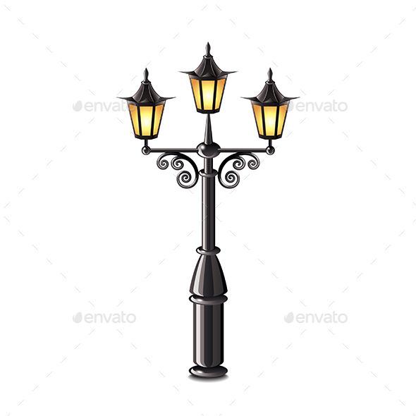 Street Lantern - Man-made Objects Objects