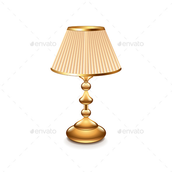Table Lamp - Man-made Objects Objects