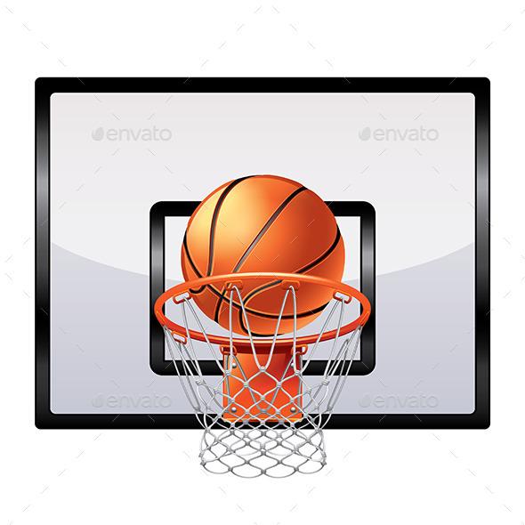 Basketball Hoop - Sports/Activity Conceptual
