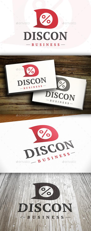 Discount D Letter Logo - Letters Logo Templates