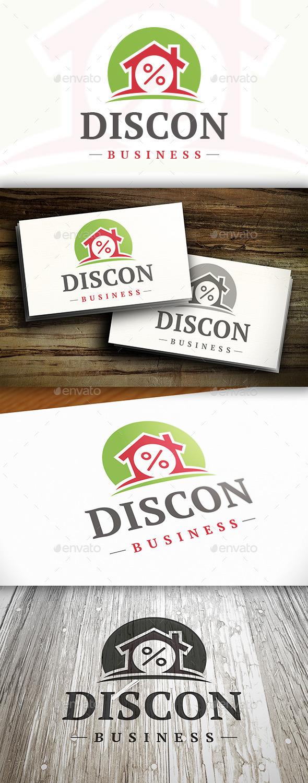 Discount House Logo - Buildings Logo Templates