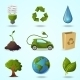 Eco Icons - GraphicRiver Item for Sale