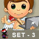 Little Cupid Character – Set 3 - GraphicRiver Item for Sale