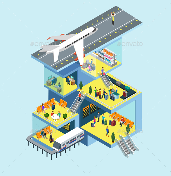 Airport Concept - Concepts Business