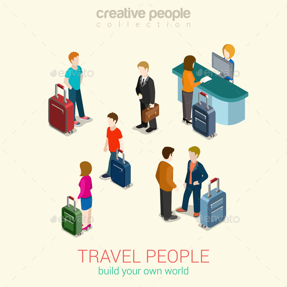 Travel Concept - People Characters