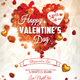 Valentines Day Heart Flyer - GraphicRiver Item for Sale