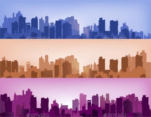 Landscape - Buildings Objects