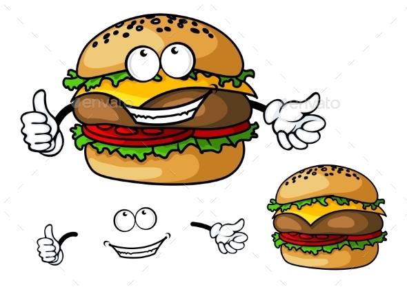Cartoon Cheeseburger - Miscellaneous Characters