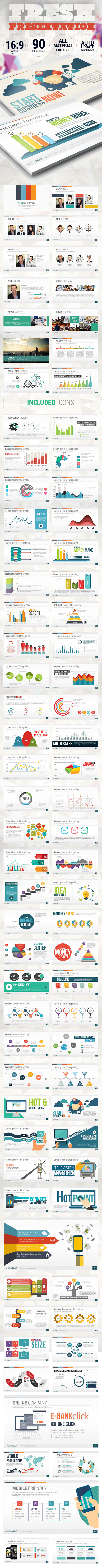 Fresh and Clean Presentation - Creative PowerPoint Templates