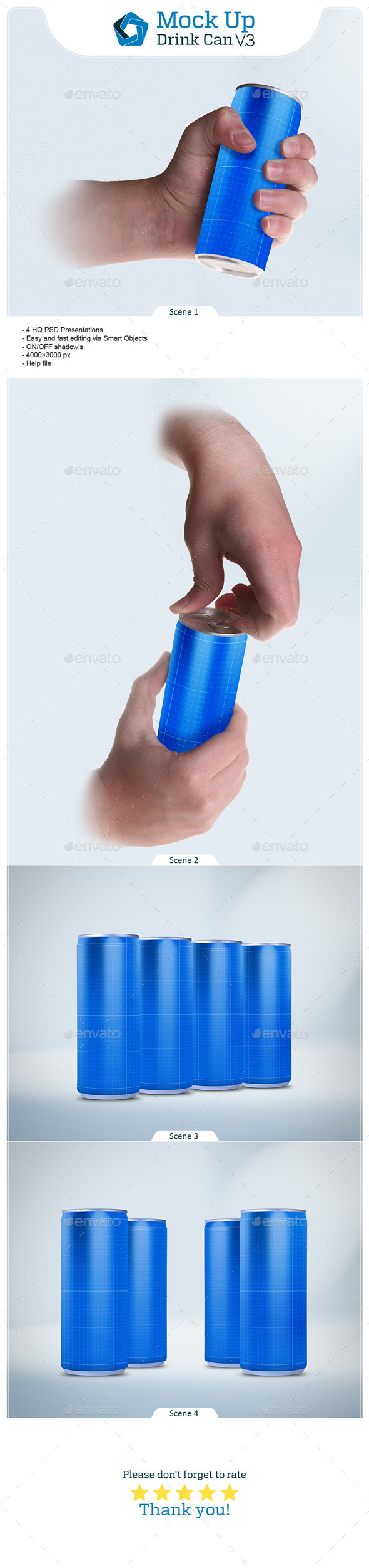 Drink Can V.3 - Food and Drink Packaging