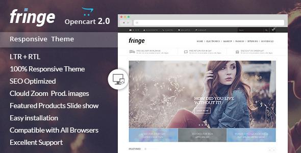 Fringe – Opencart Responsive Theme