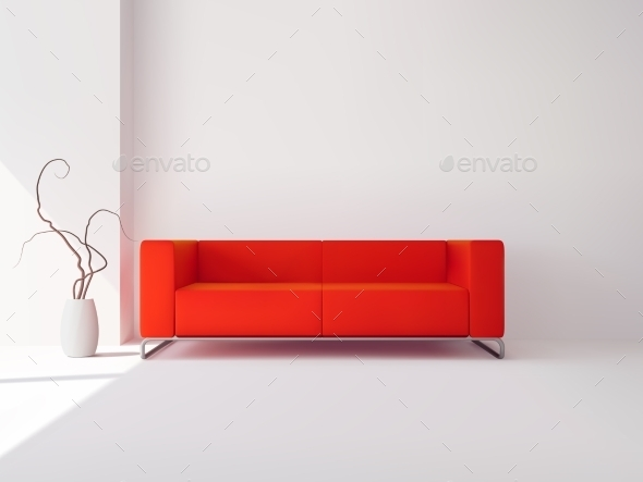 Living Room Interior - Miscellaneous Vectors