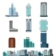 Skyscraper Offices Set - GraphicRiver Item for Sale