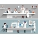 Scientists in Lab Concept - GraphicRiver Item for Sale