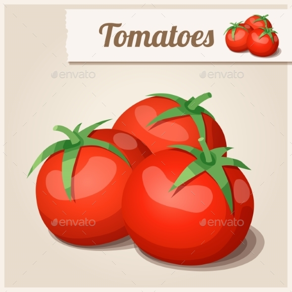 Tomatoes - Food Objects