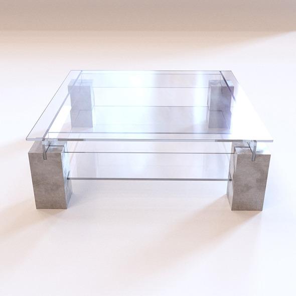 Roche Bobois Tenere Coffee Table by beskor 3DOcean