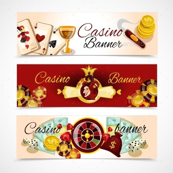 Casino Banner Set - Miscellaneous Vectors