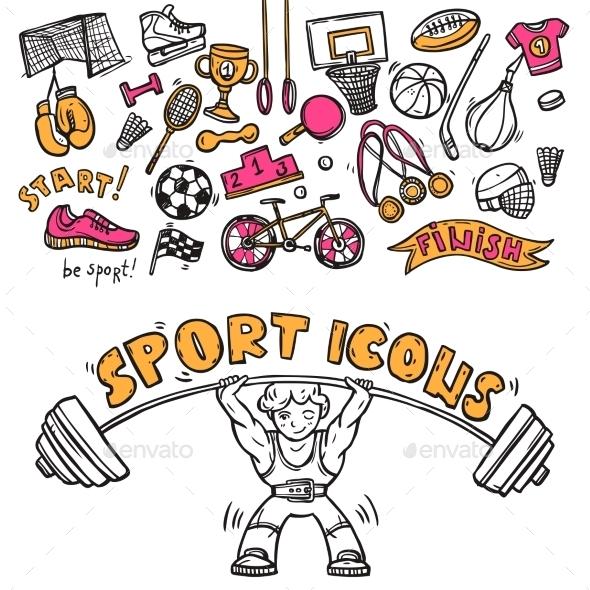 Sport Icons - Sports/Activity Conceptual