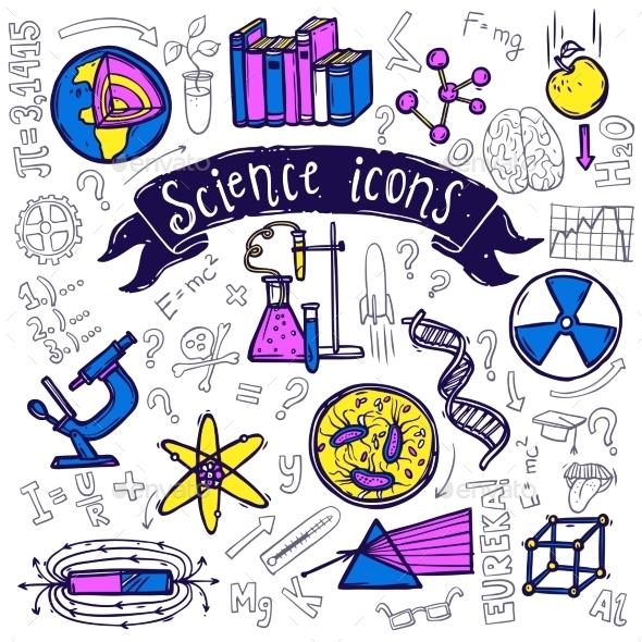 Science Symbols - Technology Conceptual