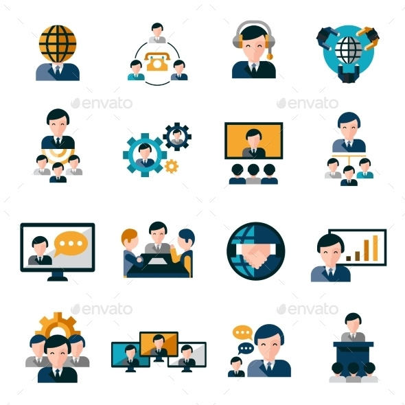 Business Meeting Icons - Icons