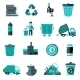 Garbage Icons Set - GraphicRiver Item for Sale