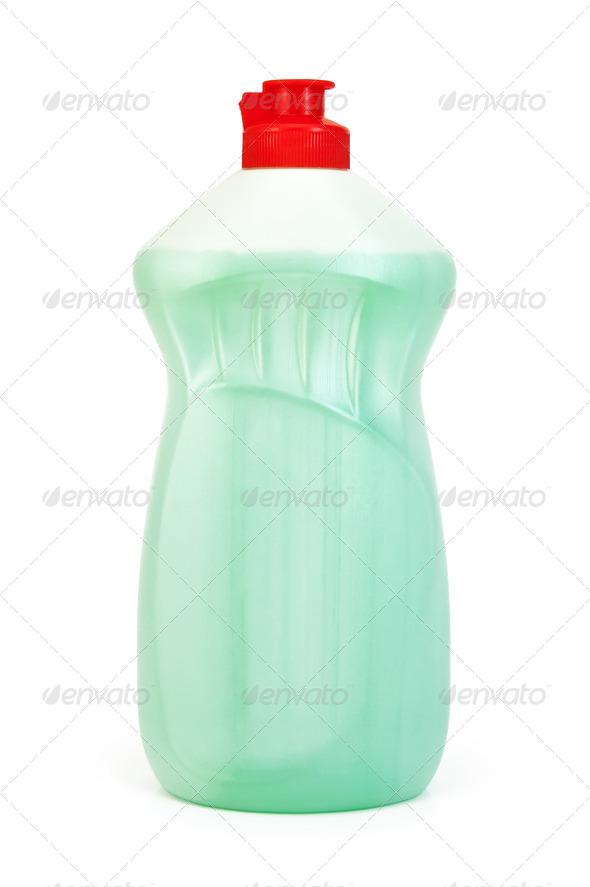 Bottle of light green - Stock Photo - Images