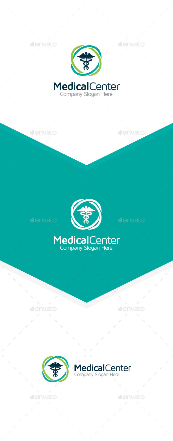 Medical Center - Symbols Logo Templates