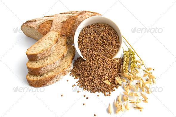Buckwheat Bread - Stock Photo - Images
