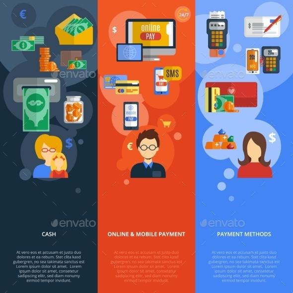 Payment Banner Set - Business Conceptual
