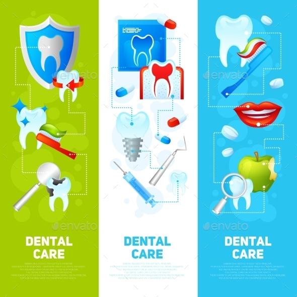 Dental Banner Set - Health/Medicine Conceptual