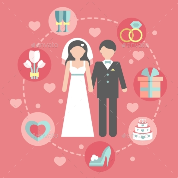 Groom and Bride - Weddings Seasons/Holidays