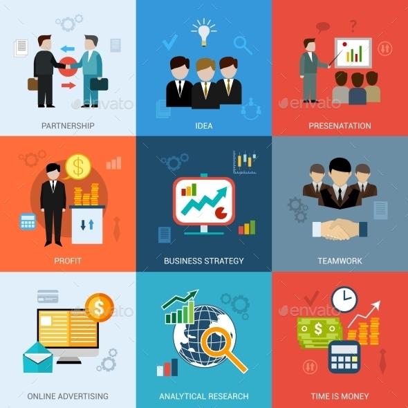 Business Concepts Set - Business Conceptual