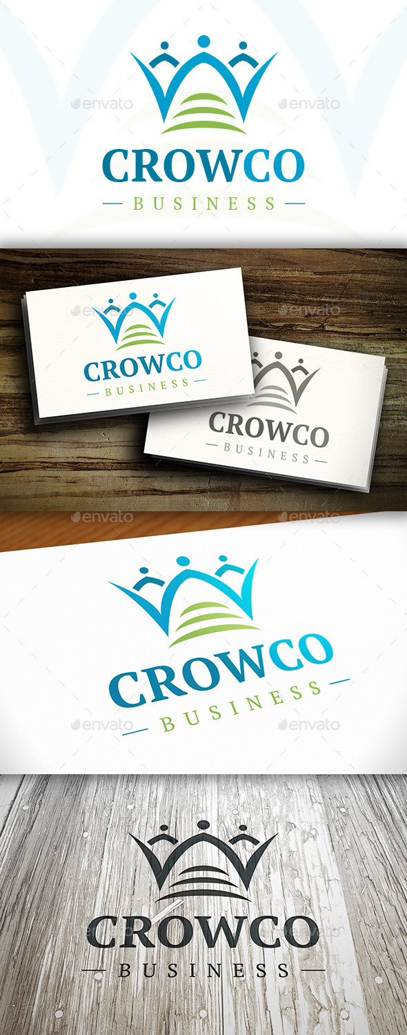 Crowd Connect Logo - Humans Logo Templates