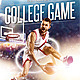 College Basketball Game Flyer Template - GraphicRiver Item for Sale