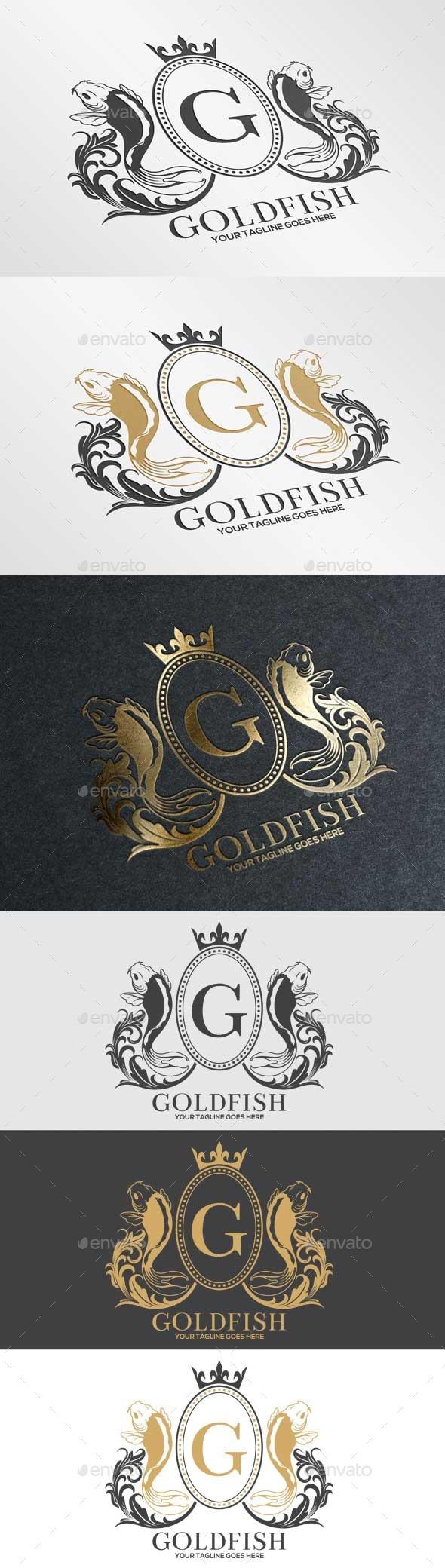 Goldfish - Crests Logo Templates