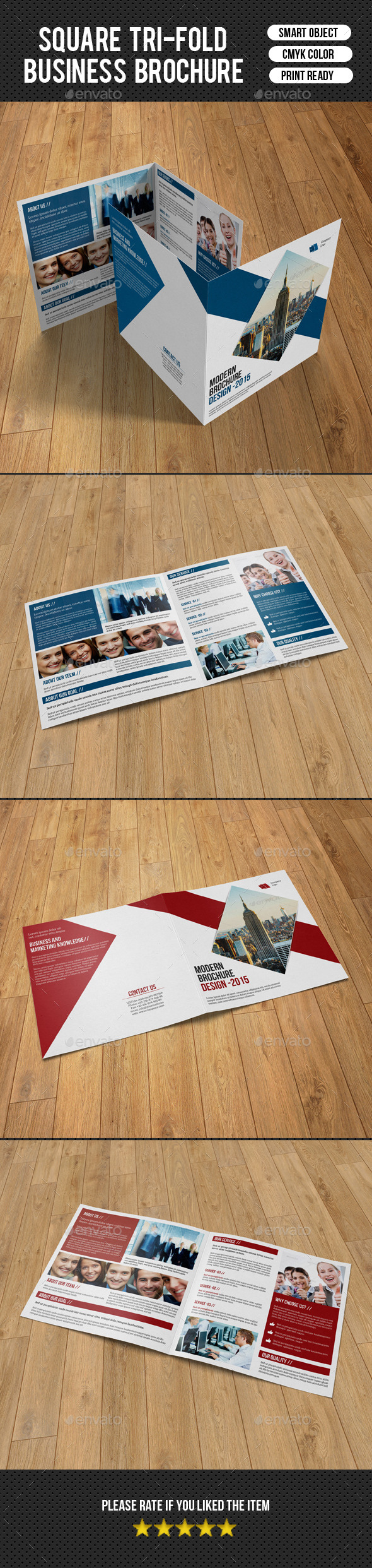 Corporate Square Bifold Brochure-V12 - Corporate Brochures