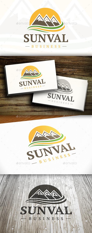 Sun Valley Logo - Nature Logo Templates
