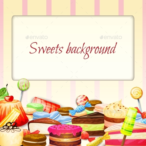 Sweets Food Background - Food Objects